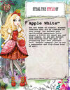 Whose Fairytale Style Should You Steal - Apple White