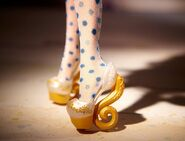Diorama - shoes of Madeline