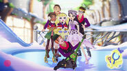 Epic winter - dexter, blondie, sparrow, jillian, hunter and duchess