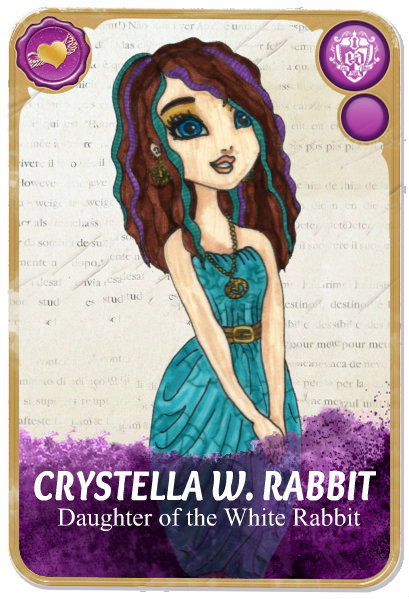 Crystella Rebel Card