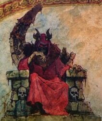 The Throne of the Horned King