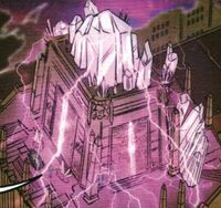 Recreation of the Temple of Gozer