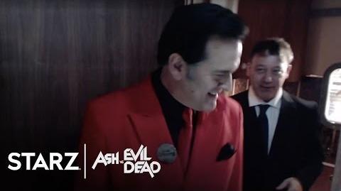 Ash vs Evil Dead San Diego Comic-Con 2015 Booth Experience STARZ