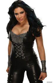 Danielle in Black Rose Mafia gear