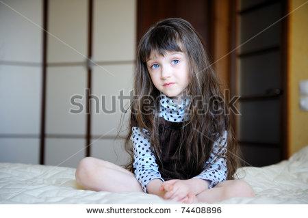 Pleasing Little Girl With Black Hair And Blue Eyes 38709 Dfiles Short Hairstyles For Black Women Fulllsitofus