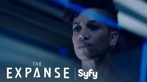 THE EXPANSE Making Sense of the Data Syfy