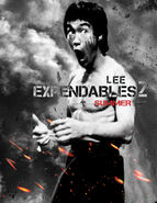 The expendables 2 alternate Bruce lee fake fanmade poster style by pokerhlis-d4y86nt