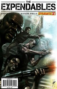 The Expendables Issue 2 cover