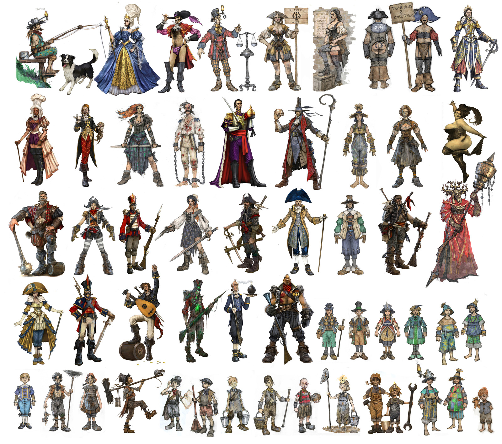 Image - Fable III Character Concepts 2.jpg | The Fable ...