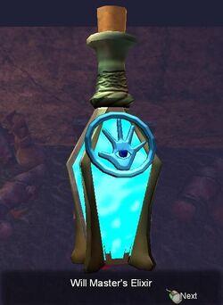 Will Master's Elixir