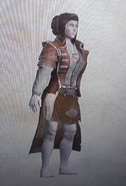 Female lower class outfit