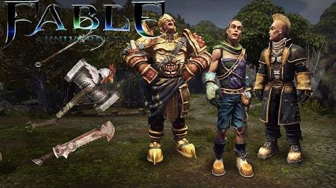 Fable Anniversary Hero's Weapons & Outfits Pack