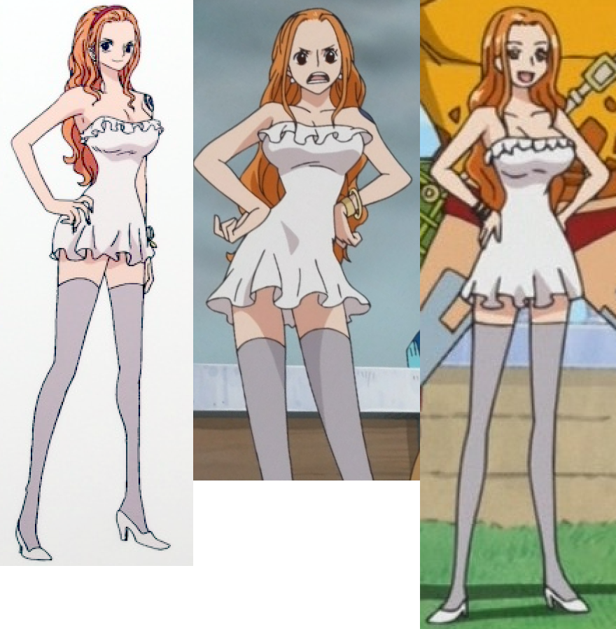 Image gallery nami outfits