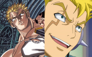 Laxus eye color