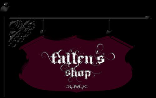Fallen's shop logo