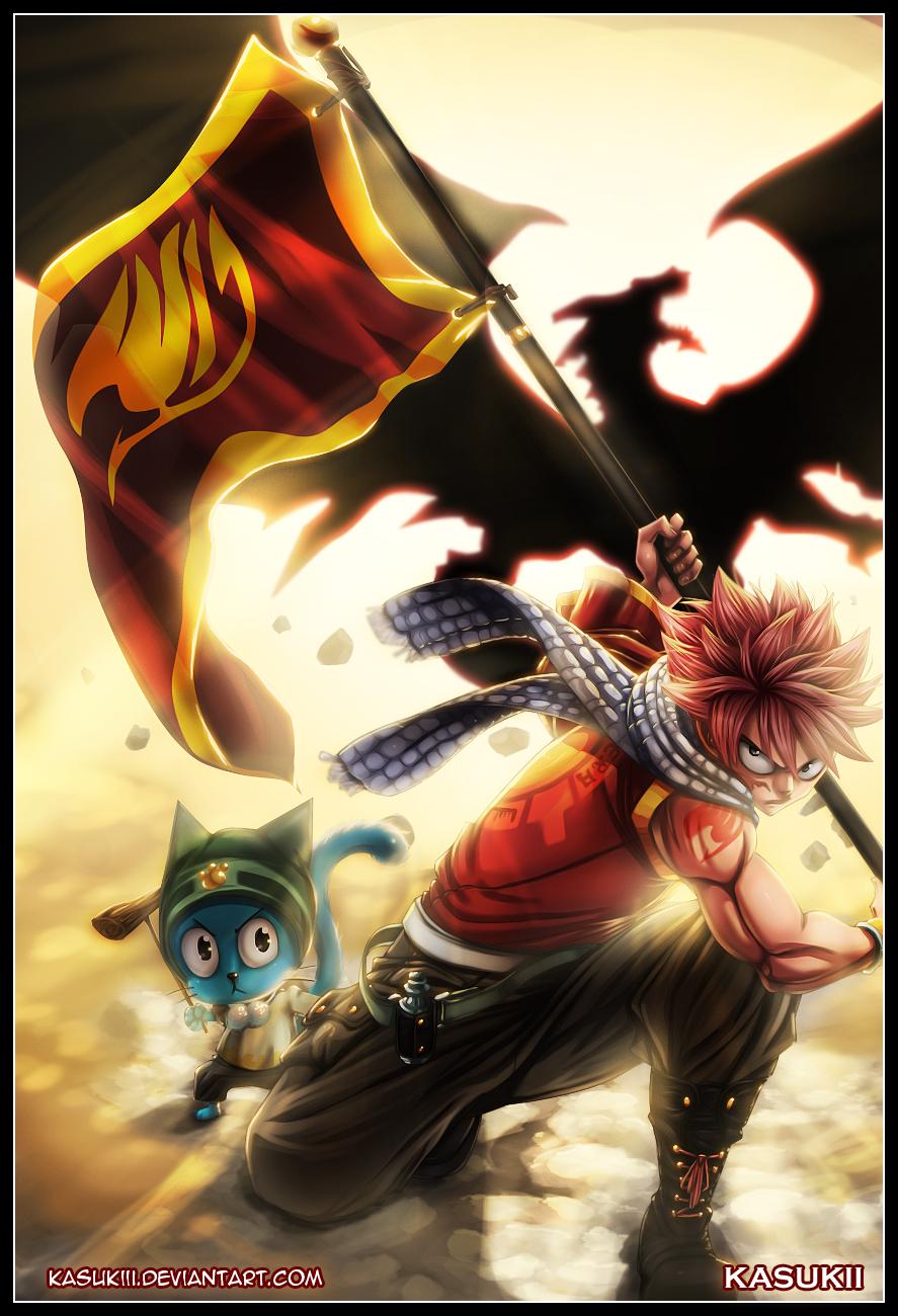 Image - Natsu Banner Fanart.jpg | Fairy Tail Wiki | Fandom ...