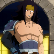 Gajeel coming back from graveyard (6)