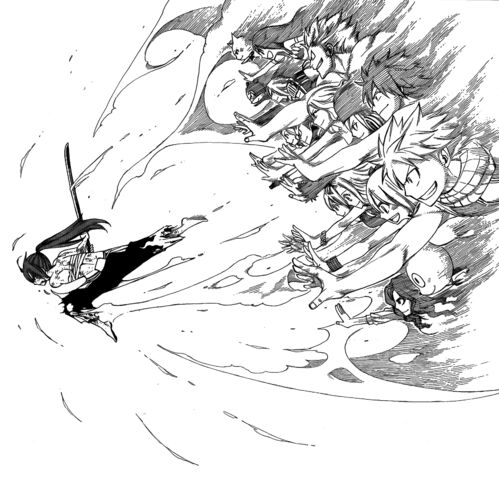 File:Everyone lending magic to Erza.jpg