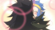 Gajeel and Levy Kissing in Juvia's Imagination