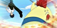 Natsu Dragneel & Gray Fullbuster vs. Unnamed Eisenwald Team