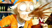 Makarov's reaction to the missing request