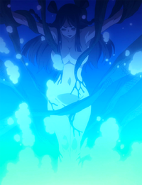 Minerva turning into a Demon