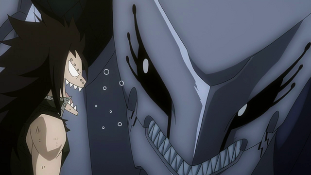 File:Gajeel provoked by his dragon.png