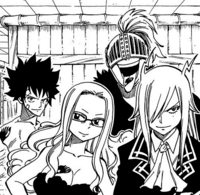 Mest and Thunder God Tribe smile at Makarov