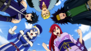 Team Fairy Tail is fired up