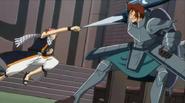 Dan's spear vs. Natsu's punch