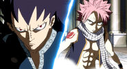 Gajeel and Natsu team up