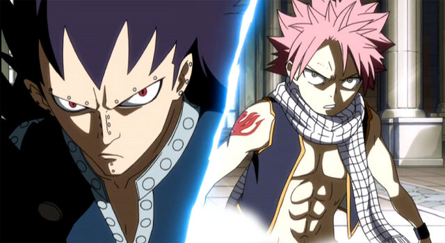 File:Gajeel and Natsu team up.jpg