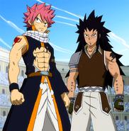 Natsu and Gajeel dominate