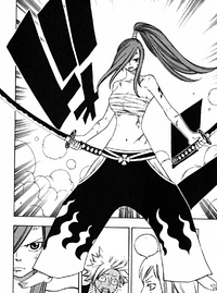 Erza without her armor