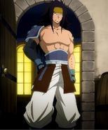 Gajeel coming back from graveyard