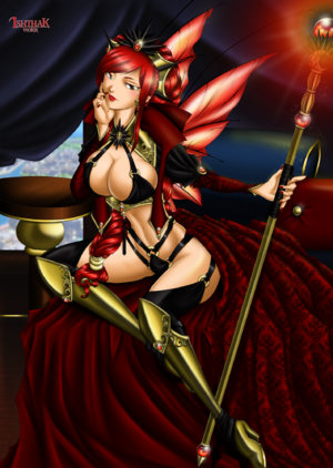 Red Queen by Ish