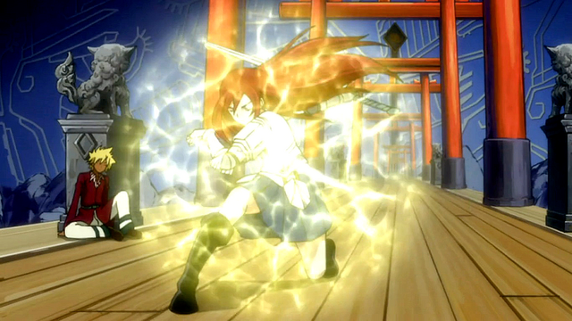 File:Erza breaks out of Shô's card.png