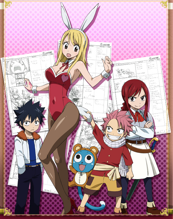 Memory Days Fairy Tail Lucy Cat Costume Episode