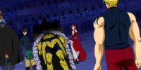 Laxus Dreyar vs. Team Raven Tail