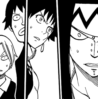 File:Max, Warren, Mest and Gajeel surprised about Fairy Heart.png