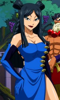 Minerva's appearance in the anime