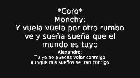 Monchy Y Alexandra - Hoja en Blanco (with Lyrics con Letra)