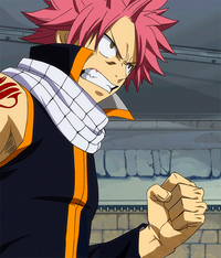 Natsu vows to avenge Lucy