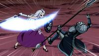 Edolas Mirajane with her sword