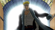 Fairy Tail Laxus going to Makarov in the Anime