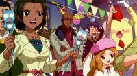 Bora, Boze and Sue watching the Fantasia Parade