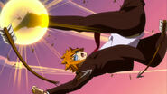 Loke intercepts Samigui's arrows
