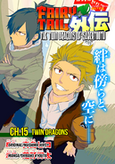 The Twin Dragons of Sabertooth 15 Cover