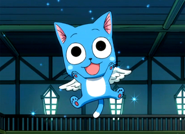 Little Happy Fairy Tail Happy Dragon