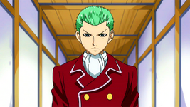 Freed's new hairstyle